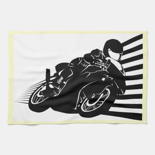 Motorcycle Hand Towel