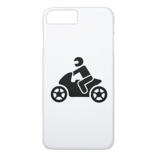 Motorcycle icon iPhone 7 plus case
