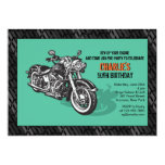 motorcycle invitation, hog enthusiast invitation,