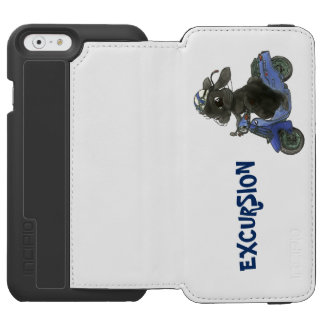 Motorcycle iPhone cover of rabbit