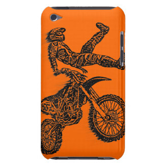 Motorcycle jumping iPod touch case