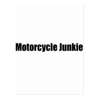 Motorcycle Junkie Postcard