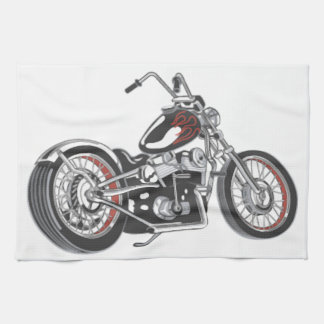 Motorcycle Kitchen Towels