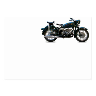 Motorcycle Large Business Card