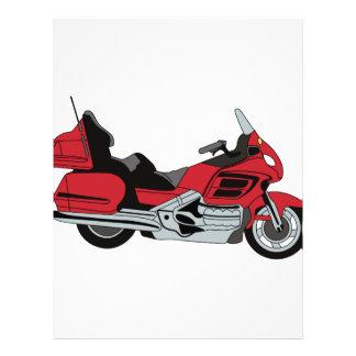 Motorcycle Letterhead