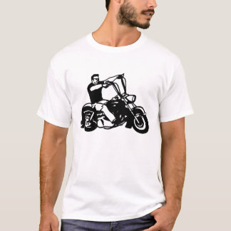 Motorcycle-Loud Pipes T-Shirt
