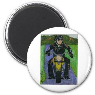 motorcycle refrigerator magnet