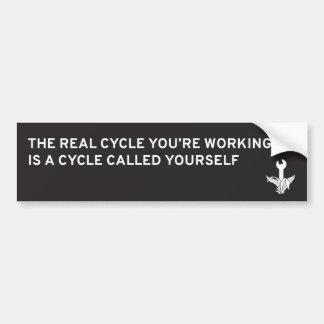 Motorcycle Maintenance Bumper Sticker