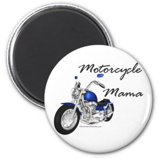 Motorcycle Mama 2 Inch Round Magnet