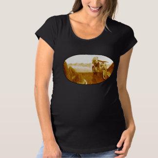 Motorcycle Mama Maternity T-Shirt