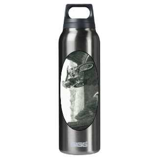 Motorcycle Mama 16 Oz Insulated SIGG Thermos Water Bottle