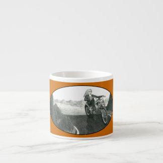 Motorcycle Mama 6 Oz Ceramic Espresso Cup