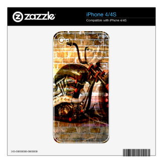 Motorcycle Mania Skins For The iPhone 4