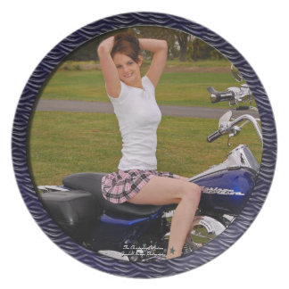 Motorcycle Momma Plate