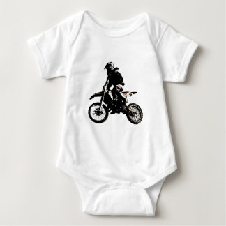 Motorcycle Motocross Baby Bodysuit