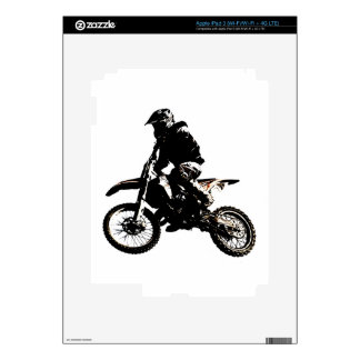 Motorcycle Motocross Decal For iPad 3