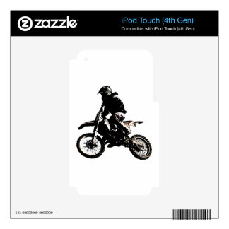 Motorcycle Motocross Decal For iPod Touch 4G