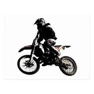 Motorcycle Motocross Postcard