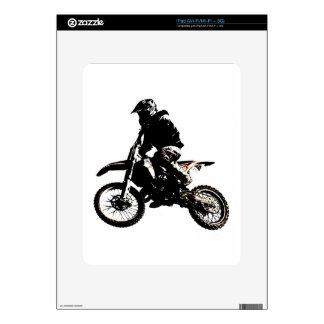 Motorcycle Motocross Skin For The iPad