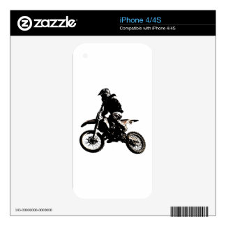 Motorcycle Motocross Skins For The iPhone 4