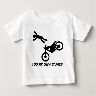 Motorcycle My Own Stunts Tee Shirt