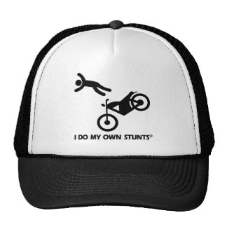 Motorcycle My Own Stunts Trucker Hat