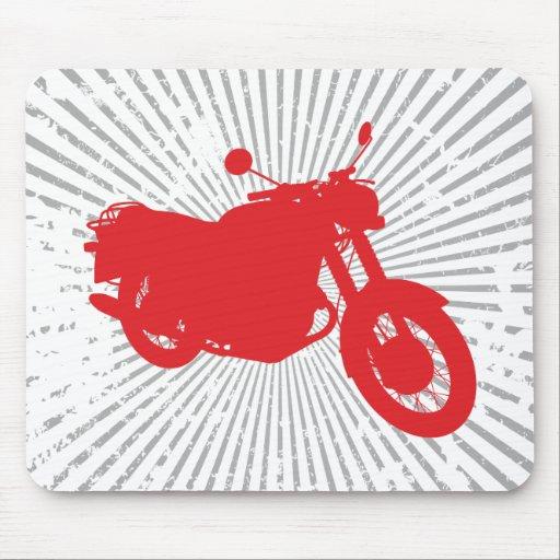 Motorcycle: Outline Profile: Custom Mousepad