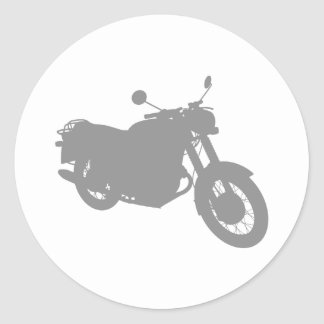 Motorcycle Outline Profile Stickers