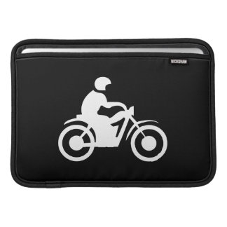 Motorcycle Pictogram MacBook Air Sleeve