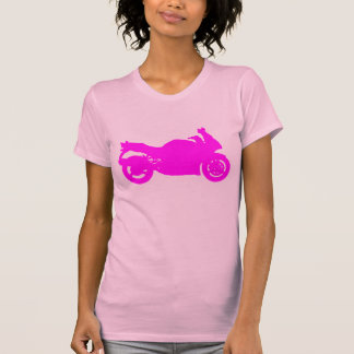 Motorcycle Pink T-Shirt