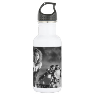 Motorcycle Pinup Girl 18oz Water Bottle