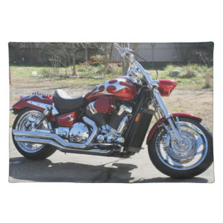 motorcycle placemat