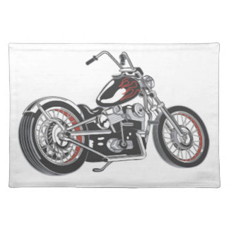 Motorcycle Place Mats