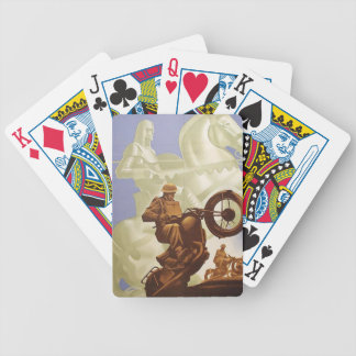 Motorcycle Playing Cards