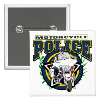 Motorcycle Police Pins