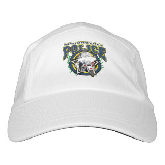 Motorcycle Police Headsweats Hat