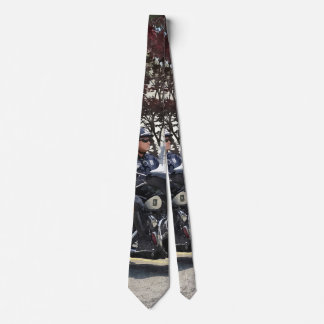 Motorcycle Police Officer Neck Tie