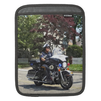 Motorcycle Police Officer Sleeve For iPads