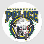 Motorcycle Police Stickers