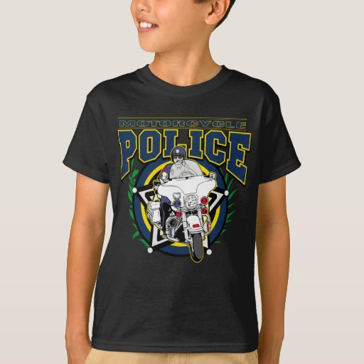 Motorcycle Police T-Shirt