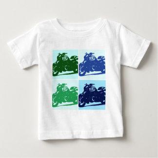 Motorcycle Pop Art Baby T-Shirt