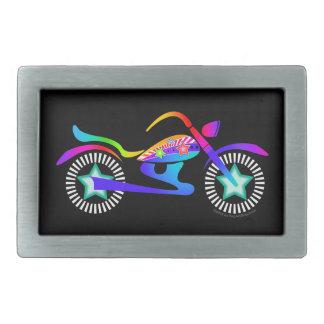 MOTORCYCLE Pop Art Style BELT BUCKLE by PopArtDiva