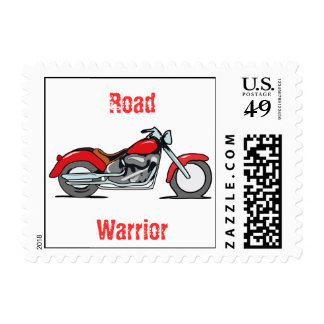 Motorcycle Postage Stamps