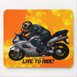 Motorcycle Power Biker Transport Gift Mouse Pad