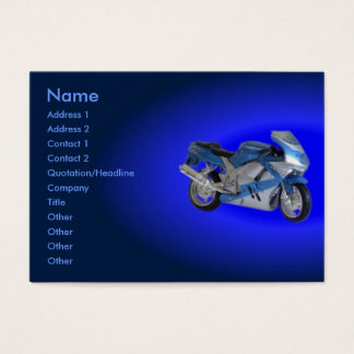 Motorcycle Profile Card