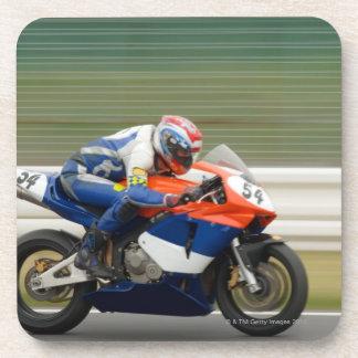 Motorcycle Race Drink Coasters