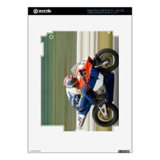 Motorcycle Race Decal For iPad 3