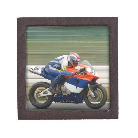 Motorcycle Race Jewelry Box