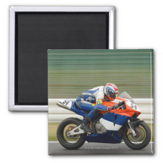 Motorcycle Race Magnet