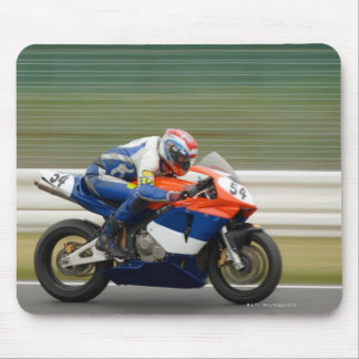 Motorcycle Race Mouse Pad